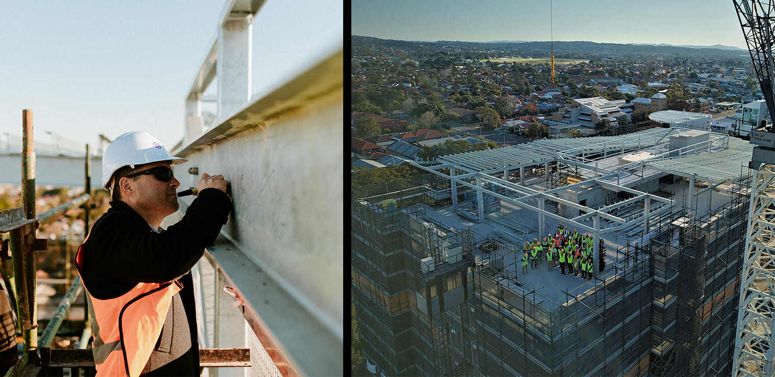 RSLLC Newcastle Topping Out Ceremony