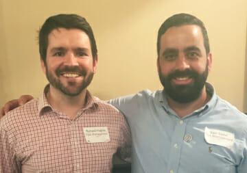 Senior Project Manager Richard Hughes and Project Manager Sam Sader