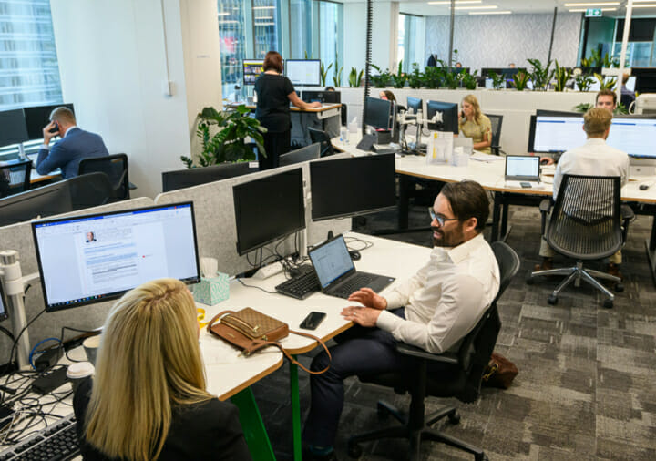 Activity based working in the TSA Sydney office