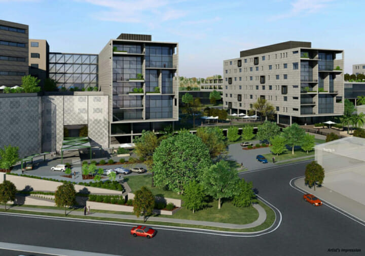 Artists impression of the Ipswich Hospital Redevelopment