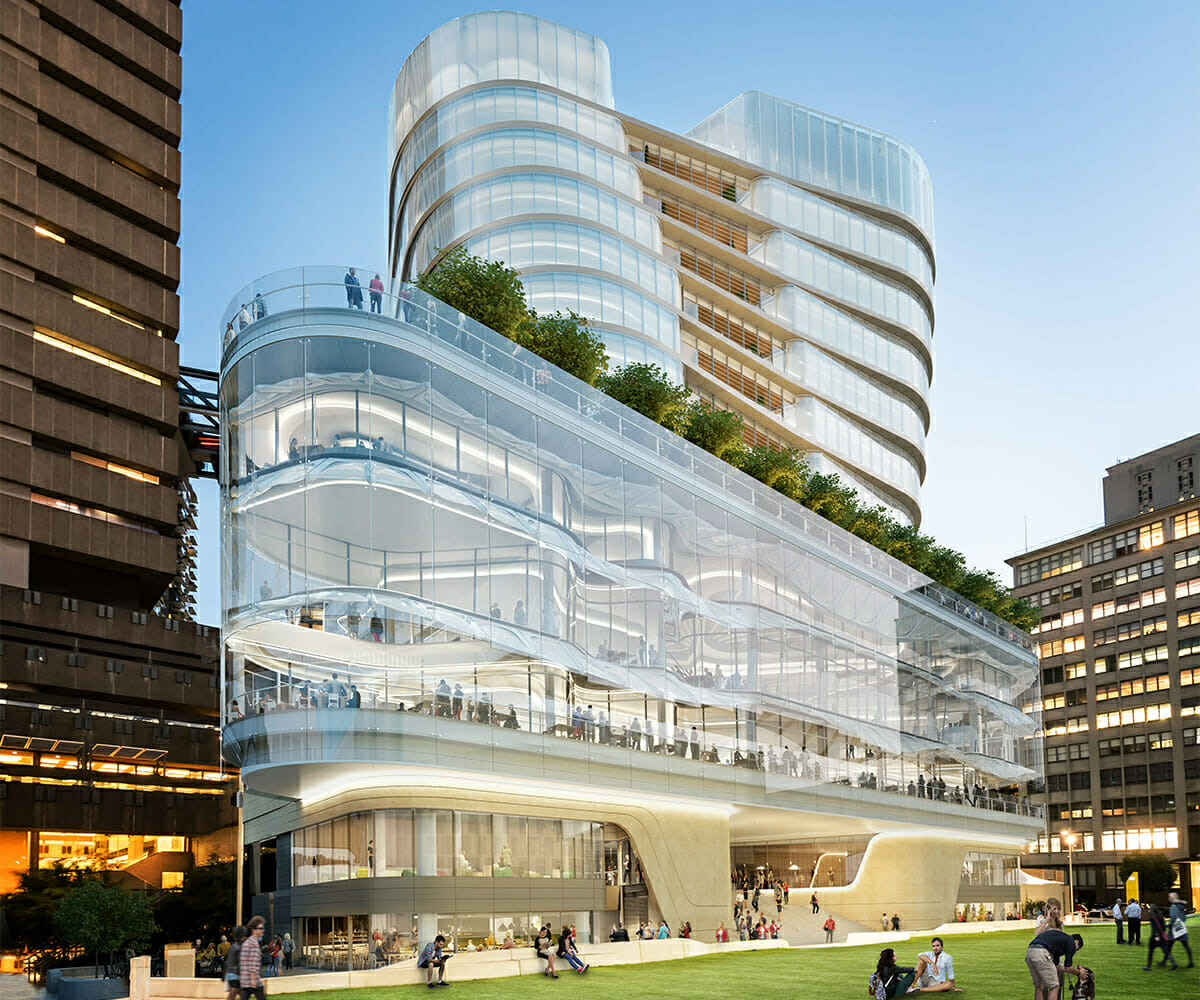 Artists impression of UTS Central