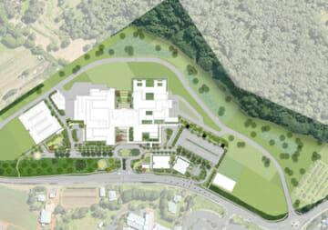 Site overview for the Tweed Hospital Development