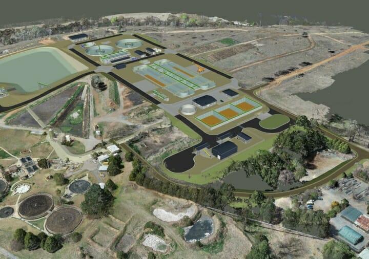 Queanbeyan Sewage Treatment Plant