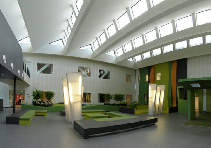 Waikato District Health Board campus interior